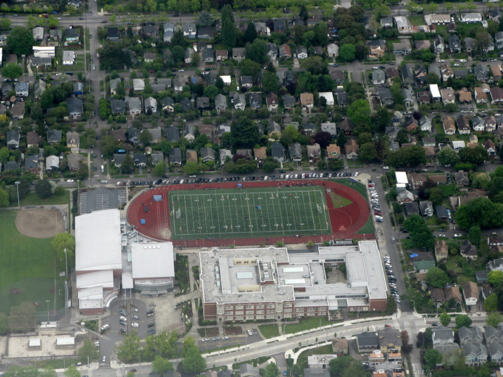 Garfield High School Aerial Photo
