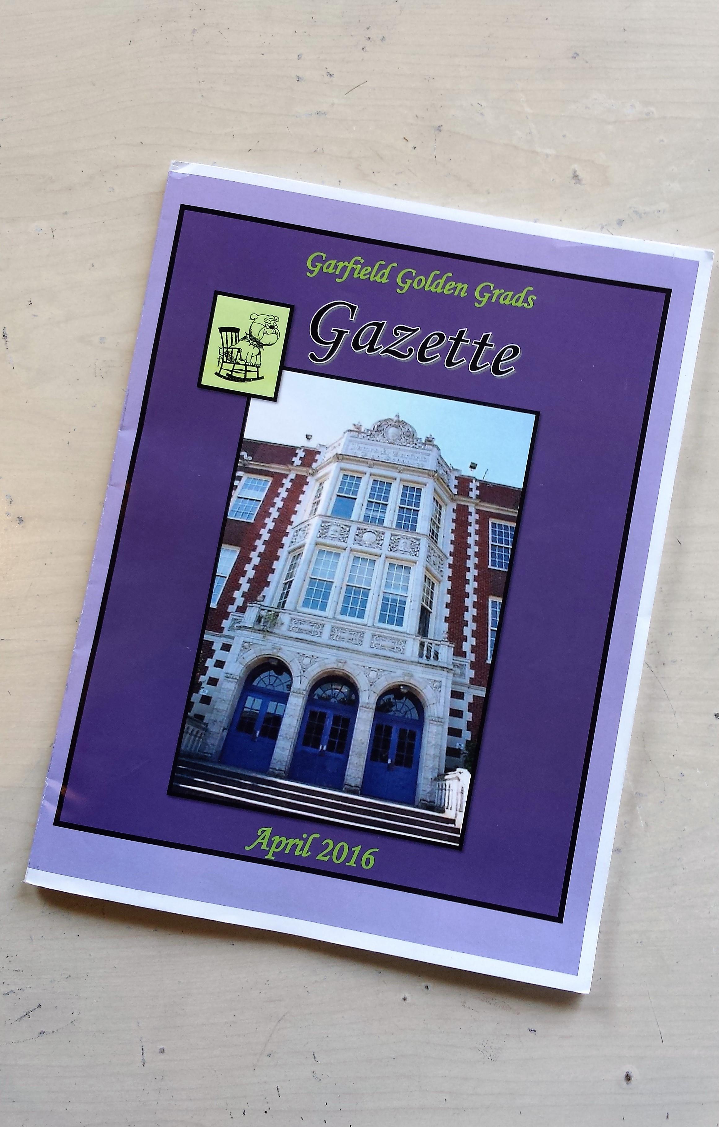 Garfield Golden Grads Gazette